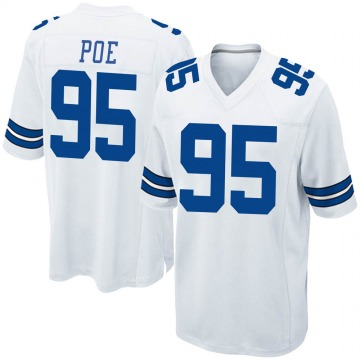 Youth Dontari Poe Dallas Cowboys Nike Game Jersey - White