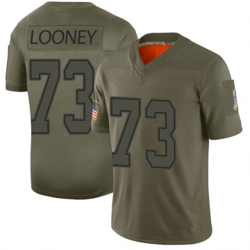 Youth Joe Looney Dallas Cowboys Nike Limited 2019 Salute to Service Jersey - Camo